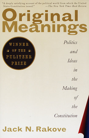 Original Meanings Book Cover Picture