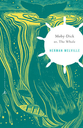 Moby-Dick Book Cover Picture