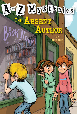 A to Z Mysteries: The Absent Author by Ron Roy