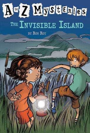A to Z Mysteries: The Invisible Island by Ron Roy
