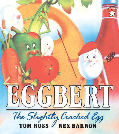 Eggbert, the Slightly Cracked Egg