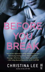 Before You Break
