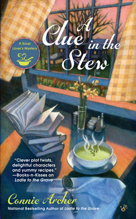 A Clue in the Stew by Connie Archer