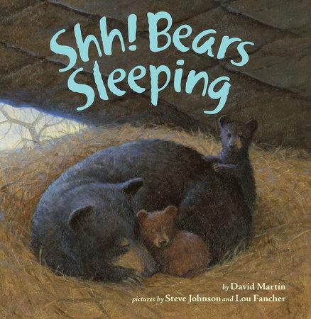 Shh! Bears Sleeping by David Martin