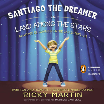 Santiago the Dreamer in Land Among the Stars cover
