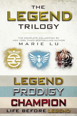 The Legend Trilogy Collection by Marie Lu: 9780698172616   PenguinRandomHouse.com: Books