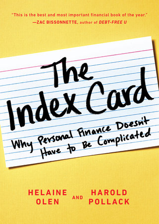 The Index Card by Helaine Olen and Harold Pollack