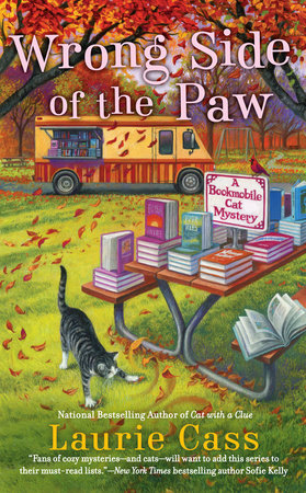 Wrong Side of the Paw by Laurie Cass