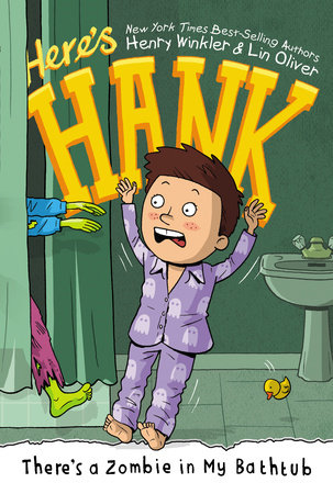There's a Zombie in My Bathtub #5 by Henry Winkler and Lin Oliver