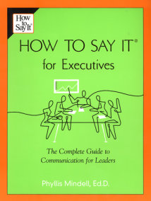 How to Say it for Executives