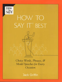 How To Say It Best
