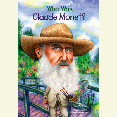 Who Was Claude Monet? cover