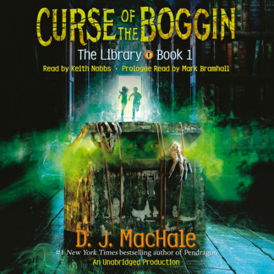 Curse of the Boggin (The Library Book 1) cover