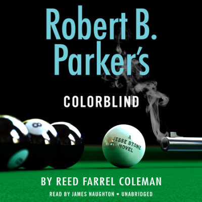 Robert B. Parker's Colorblind cover