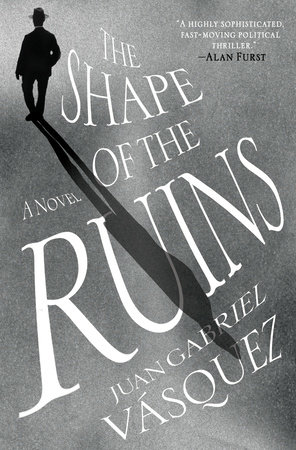 The cover of the book The Shape of the Ruins