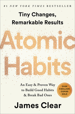 The cover of the book Atomic Habits