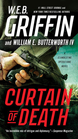 Curtain of Death by W.E.B. Griffin and William E. Butterworth IV