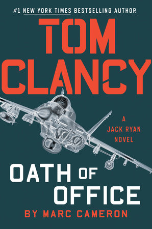 The cover of the book Tom Clancy Oath of Office