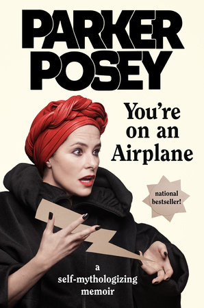 The cover of the book You're on an Airplane