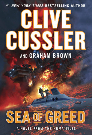 Sea of Greed by Clive Cussler,Graham Brown
