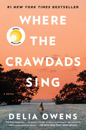 The cover of the book Where the Crawdads Sing