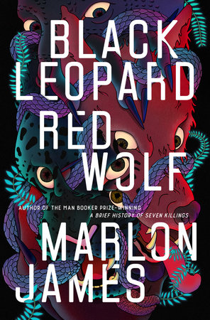 The cover of the book Black Leopard, Red Wolf