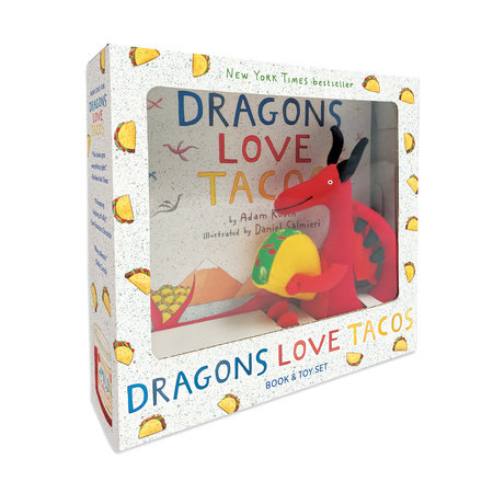 Dragons Love Tacos Book and Toy Set by Adam Rubin and Daniel Salmieri