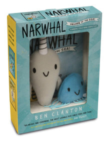 Narwhal and Jelly Book 1 and Puppet Set