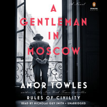 A Gentleman in Moscow Cover