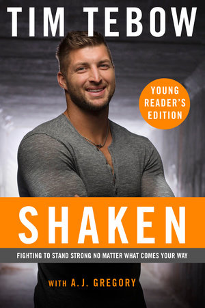 Shaken: Young Reader's Edition by Tim Tebow