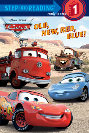 Old, New, Red, Blue! (Disney/Pixar Cars)