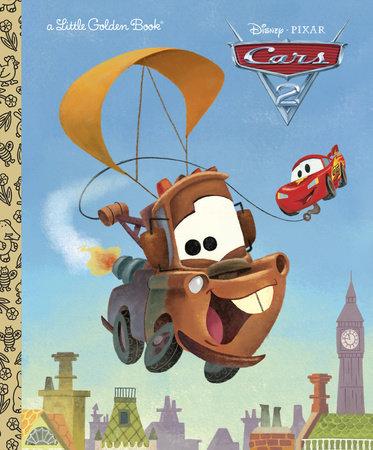 Cars 2 Little Golden Book (Disney/Pixar Cars 2) by RH Disney