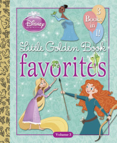 Disney Princess Little Golden Book Favorites: Volume 3 (Disney Princess)