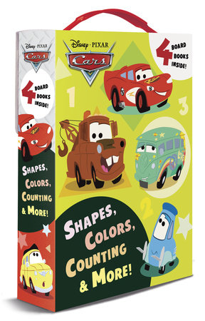 Shapes, Colors, Counting & More! (Disney/Pixar Cars) by RH Disney