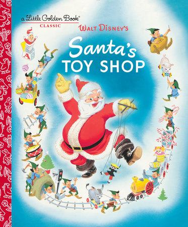 Santa's Toy Shop (Disney) by Al Dempster