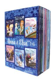 Anna & Elsa: Books 1-6 (Disney Frozen)