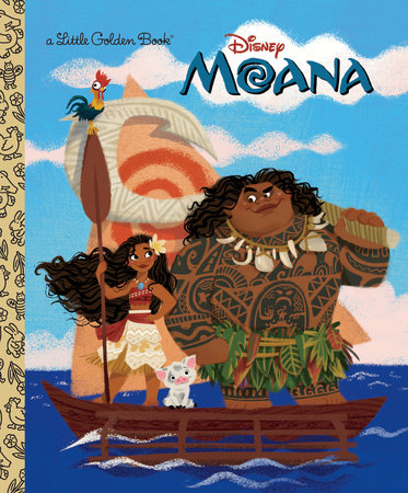 Moana Little Golden Book (Disney Moana) by Laura Hitchcock