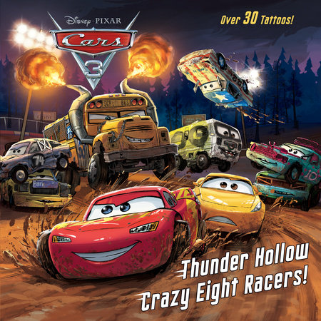 Thunder Hollow Crazy Eight Racers! (Disney/Pixar Cars 3)