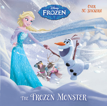 The Frozen Monster (Disney Frozen) by RH Disney