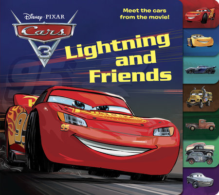 lightning and friends disneypixar cars 3 by victoria manley