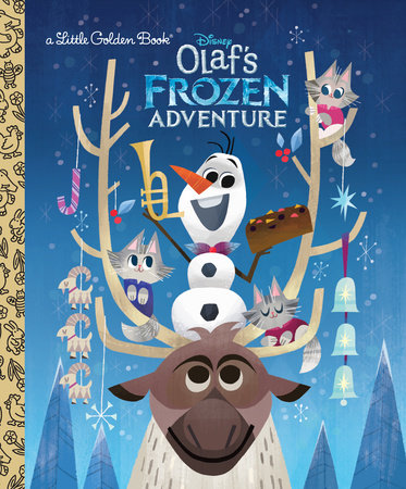 Olaf's Frozen Adventure Little Golden Book (Disney Frozen) by Andrea Posner-Sanchez; illustrated by Joey Chou