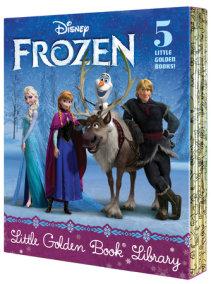 Frozen Little Golden Book Library (Disney Frozen)