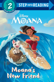 Moana's New Friend (Disney Moana)