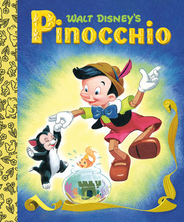 Walt Disney's Pinocchio Little Golden Board Book (Disney Classic) by RH Disney