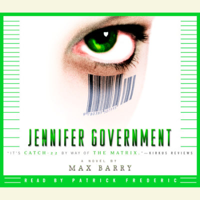 Jennifer Government cover