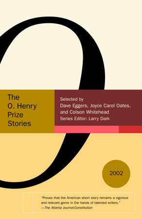 Selected Stories from the O. Henry Prize Stories 2002 cover