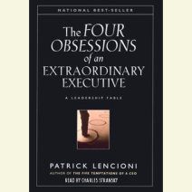 The Four Obsessions of an Extraordinary Executive Cover
