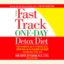 The Fast Track One-Day Detox Diet Cover