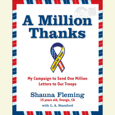 A Million Thanks cover