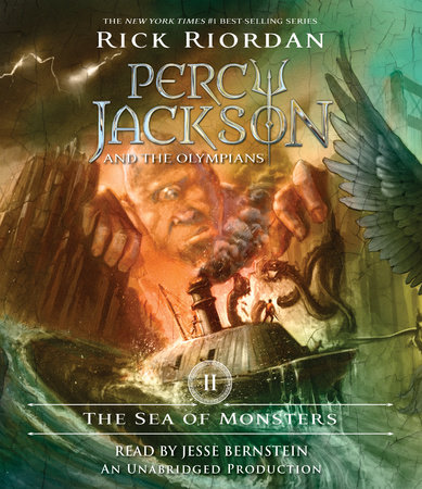 The Sea of Monsters cover